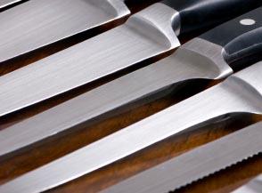 limpieza cuchillos
